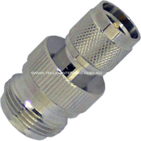 N Female to Mini UHF Male Adaptor