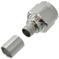 N Male Spring-Finger Connector - LMR400/RG8