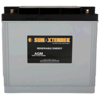 Concorde SunXtender 179Ah 12V Deep Cycle Solar Battery