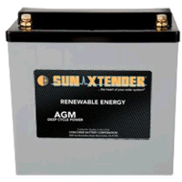 Concorde SunXtender 55Ah 12V Deep Cycle Solar Battery