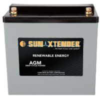 Concorde SunXtender 63Ah 12V Deep Cycle Solar Battery