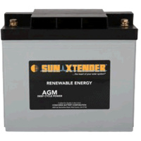 Concorde SunXtender 97Ah 12V Deep Cycle Solar Battery