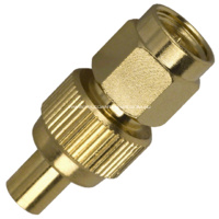 SMA Male to MCX Female Adaptor