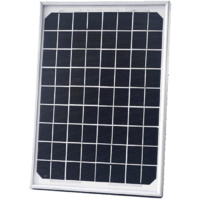 Symmetry 10W 12V Mono Solar Module - 8m Fly Leads