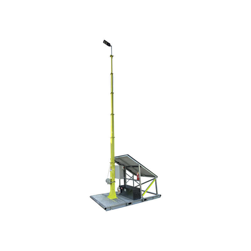 Skid Mounted Mast