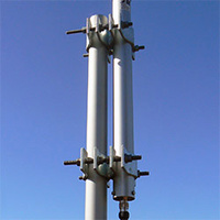 UC1 Galvanised Parallel Clamp Antenna Bracket