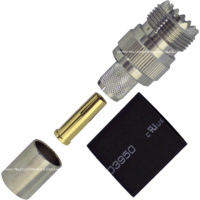 UHF Female Crimp Connector - LMR400/RG8