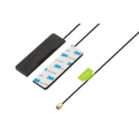 Taoglas Phoenix Dual Band Wi-Fi I-Bar Stick-On Antenna -  2.4/5.8GHz